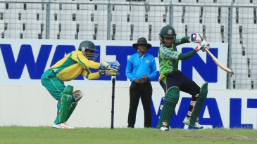 Mushfiqur Rahim made an unbeaten 66 to take Mohammedan Sporting Club home