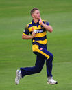 Tim van der Gugten in action, Glamorgan v Gloucestershire, Royal London One-Day Cup, Cardiff, June 6, 2016