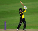 Gareth Roderick on the attack for Gloucestershire, Glamorgan v Gloucestershire, Royal London One-Day Cup, Cardiff, June 6, 2016