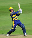 Graham Wagg hits out for Glamorgan, Glamorgan v Gloucestershire, Royal London One-Day Cup, Cardiff, June 6, 2016