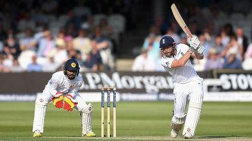 Jonny Bairstow's third Test century led England's recovery