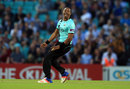 Dwayne Bravo finished the innings with two in three balls, Surrey v Hampshire, NatWest T20 Blast, Kia Oval, June 9, 2016