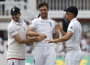 Steven Finn picked up two wickets before the break, England v Sri Lanka, 3rd Investec Test, Lord's, 3rd day, June 11, 2016