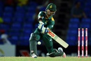 JP Duminy sets himself up for a slog, Australia v South Africa, 4th match, ODI tri-series, St Kitts