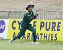 Farhaan Behardien takes a catch to dismiss Mitchell Marsh, Australia v South Africa, 4th match, ODI tri-series, St Kitts