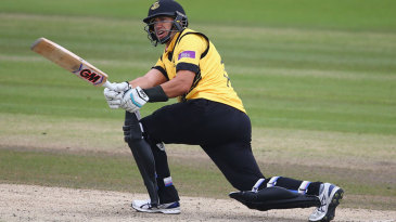 Ross Taylor hit 54 from just 44 balls