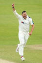 Tim Bresnan celebrates in the Roses match, Yorkshire v Lancashire, Specsavers Championship Division One, Headingley, May 31, 2016