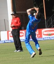 Yuzvendra Chahal dropped a catch offered by Vusi Sibanda, Zimbabwe v India, Harare, June 15, 2016