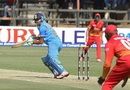 Faiz Fazal scored a half-century on ODI debut, Zimbabwe v India, Harare, June 15, 2016