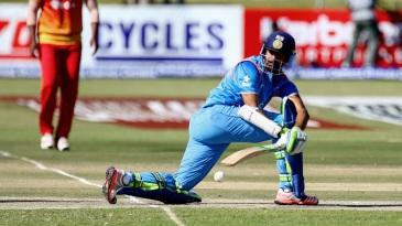Faiz Fazal sweeps en route to his unbeaten 55