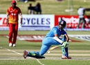 Faiz Fazal sweeps en route to his unbeaten 55, Zimbabwe v India, Harare, June 15, 2016