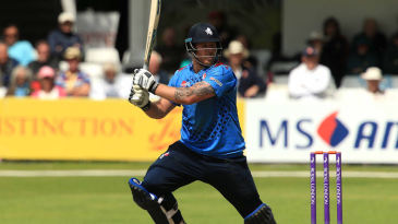 Matt Coles in action for Kent