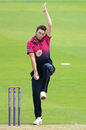 Richard Gleeson gets into his delivery stride, Yorkshire v Northants, Royal London Cup, Scarborough, June 14, 2016
