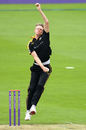 Steve Patterson prepares to deliver the ball, Yorkshire v Northants, Royal London Cup, North Group, Scarborough, June 14, 2016