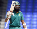 Hashim Amla compiled his second successive fifty, West Indies v South Africa, 6th match, ODI tri-series, St Kitts