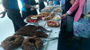 The spread at tea at Lord's, England v Sri Lanka, 3rd Investec Test, Lord's, June 9, 2016