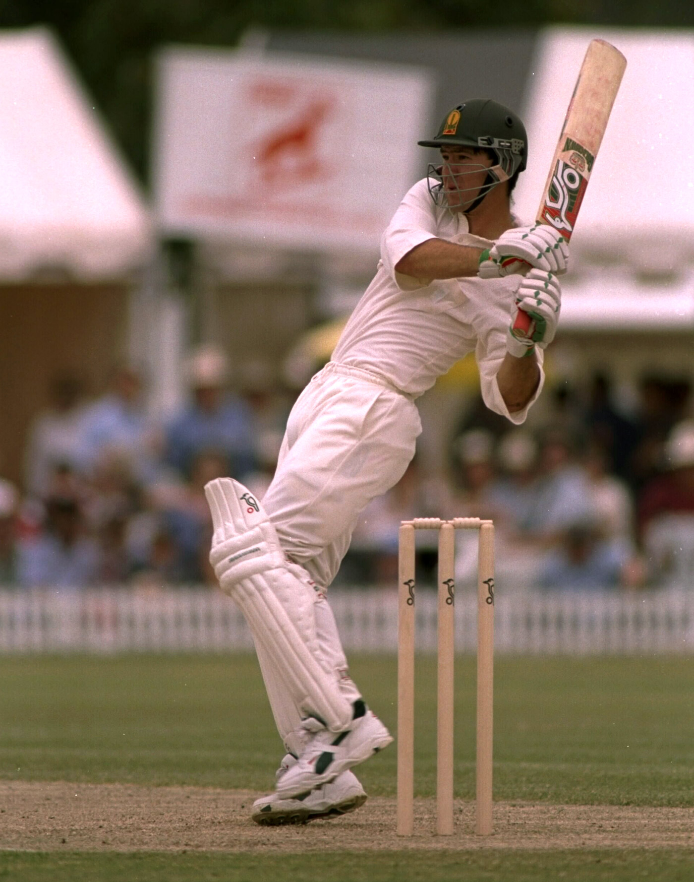 Back to front: Ricky Ponting was a front-foot player with some very high-quality back-foot shots