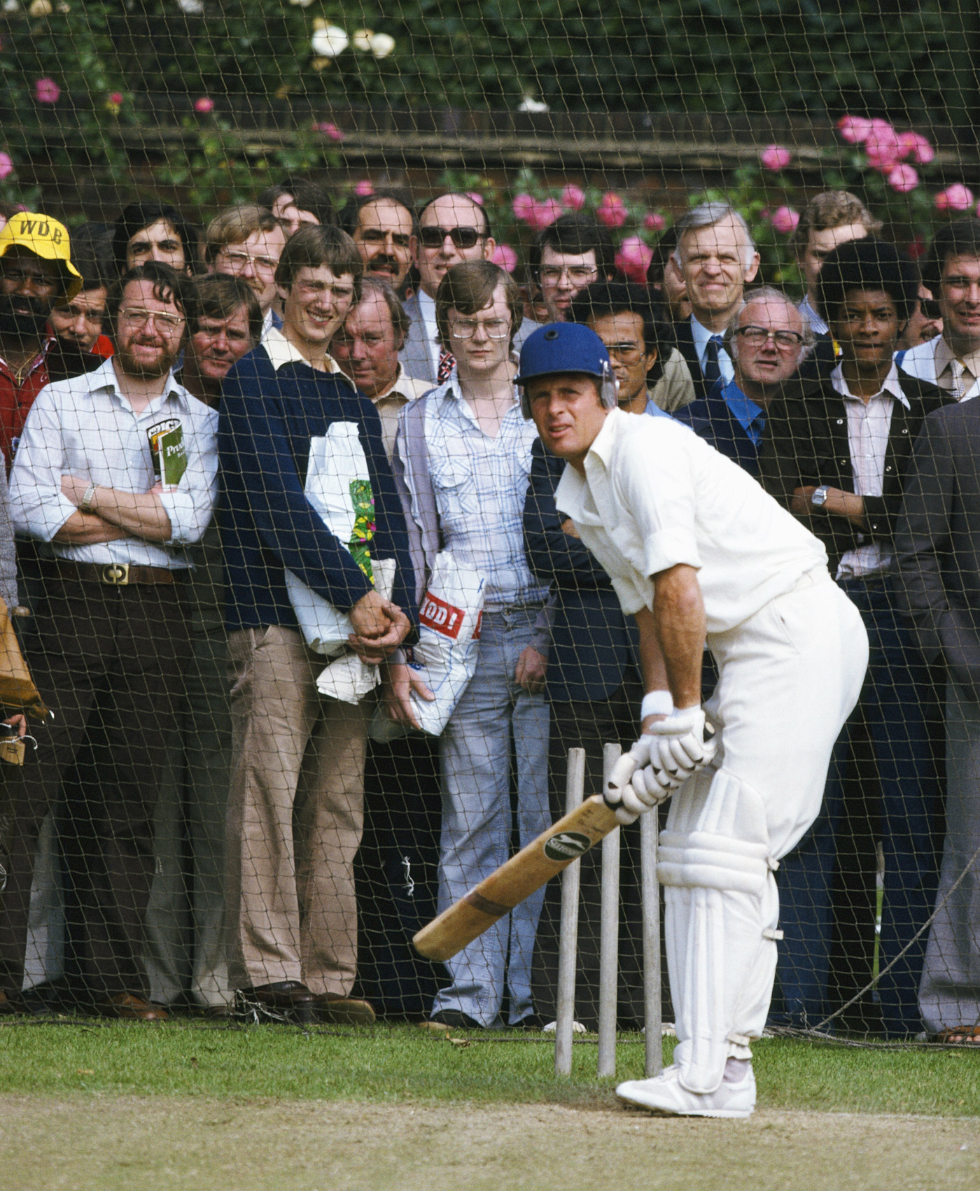 Geoff Boycott's compact sideways stance isn't coached these days because coaches worry about the front foot going too far across