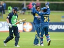 Dasun Shanaka dismissed Ed Joyce for 9, Ireland v Sri Lanka, 1st ODI, Malahide, June 16, 2016