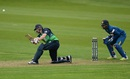 Kevin O'Brien plays a lofted sweep, Ireland v Sri Lanka, 1st ODI, Malahide, June 16, 2016