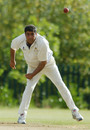 Mohammad Hussain bowls
