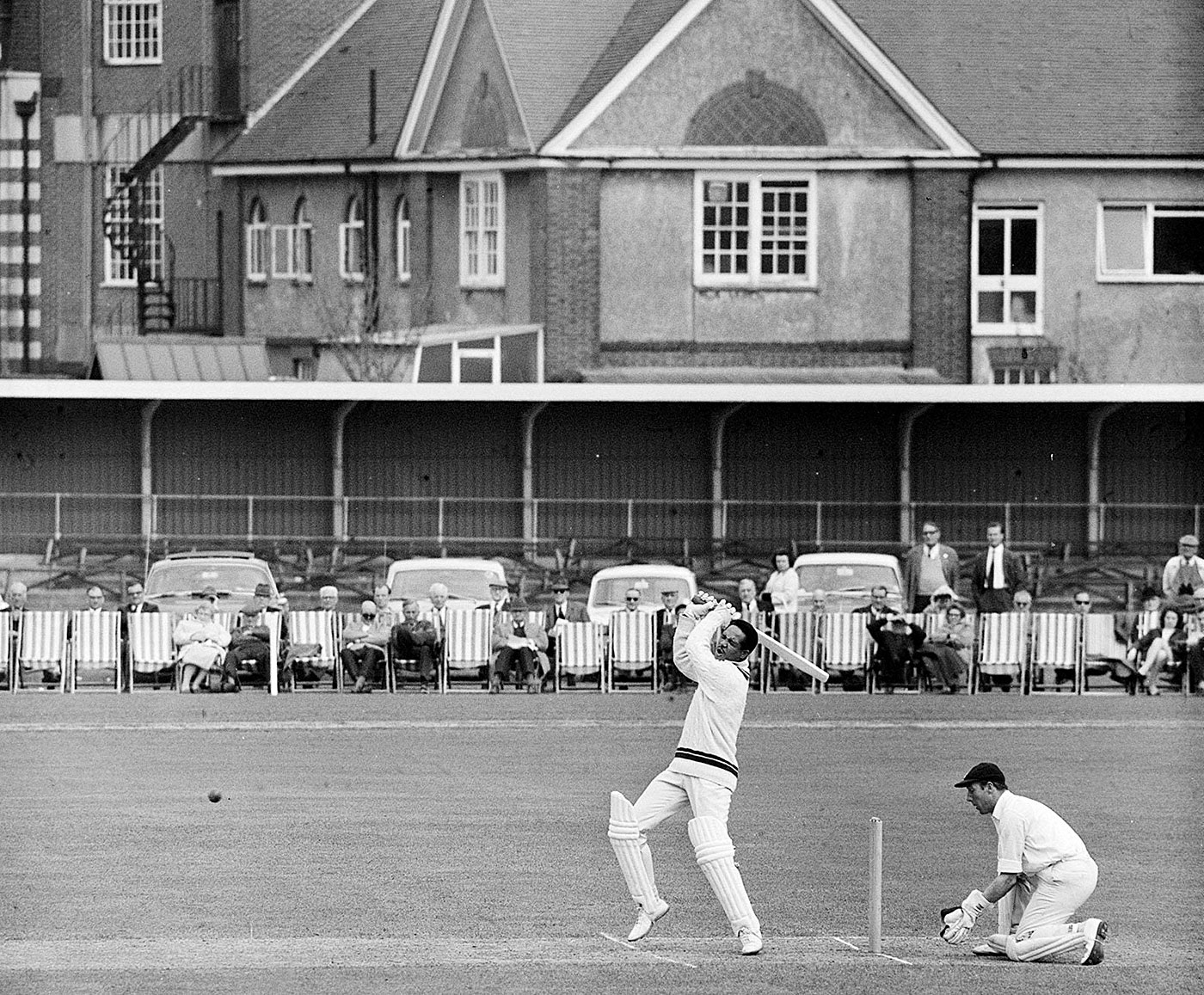 Sobers left players and fans spellbound during his county stint with Nottinghamshire, during which, among other things, he hit six sixes off an over