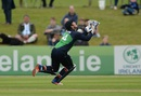 Gary Wilson settles under a catch, Ireland v Sri Lanka, 2nd ODI, Malahide, June 18, 2016