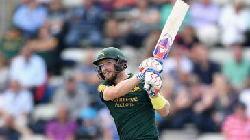 Riki Wessels hits out for Nottinghamshire
