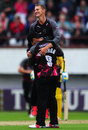 Max Waller finished with 4 for 33, Somerset v Hampshire, NatWest T20 Blast, South Group, June 19, 2016