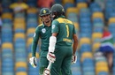 Quinton de Kock and Hashim Amla get together, Australia v South Africa, 7th match, ODI tri-series, Barbados