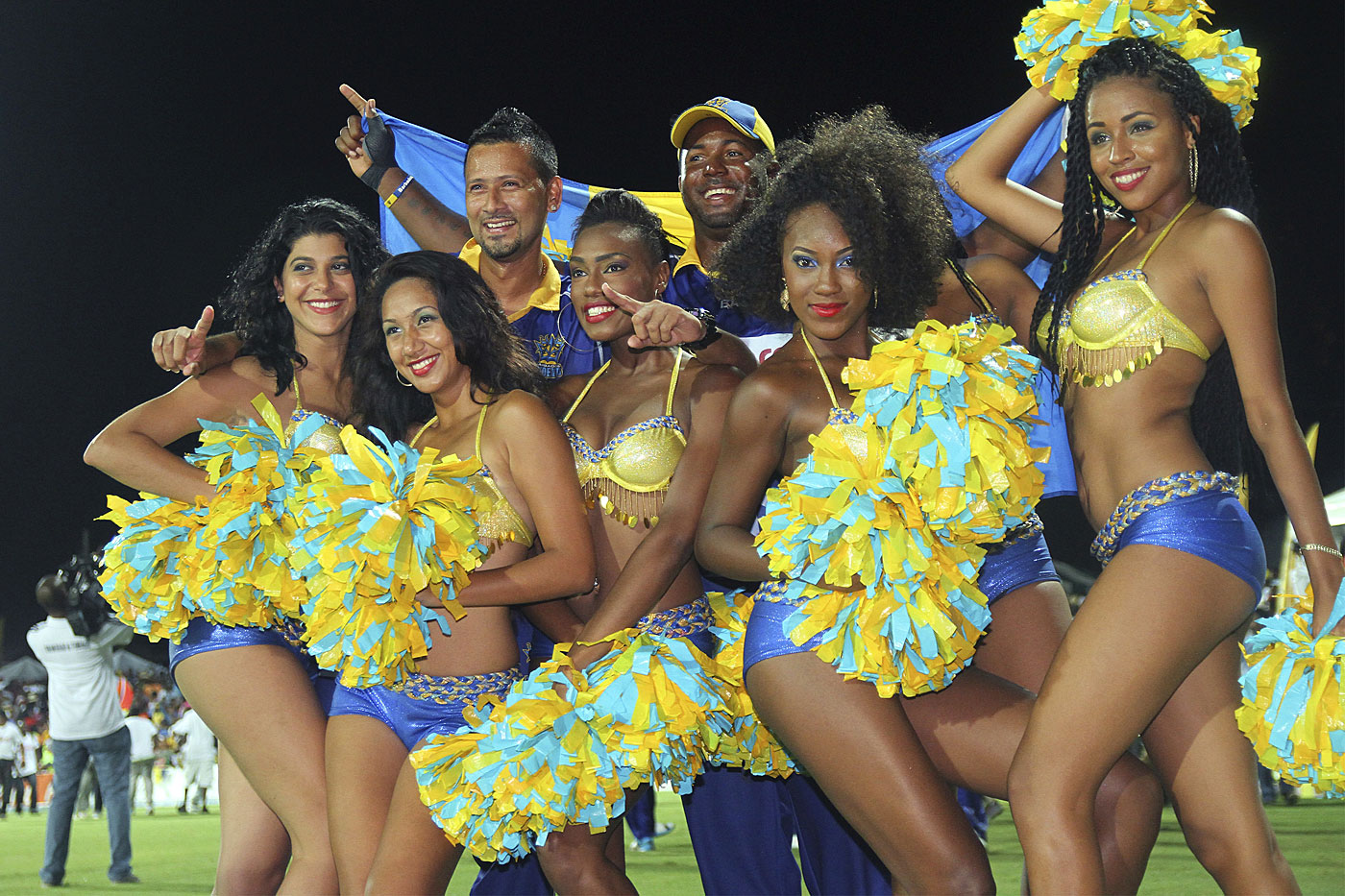 Turn it up to ten: the CPL is billed as the biggest party in cricket