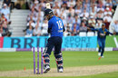 Moeen Ali chopped on to Nuwan Pradeep for 7, England v Sri Lanka, 1st ODI, Trent Bridge, June 21, 2016