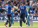 Chris Woakes and Jos Buttler put on a century stand, England v Sri Lanka, 1st ODI, Trent Bridge, June 21, 2016