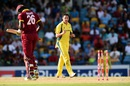 Scott Boland bowled Carlos Brathwaite with a pinpoint yorker, West Indies v Australia, 8th match, ODI tri-series, Barbados