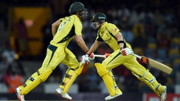 Steven Smith and Mitchell Marsh steadied Australia