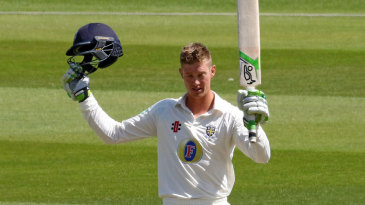 Keaton Jennings made his first double-hundred