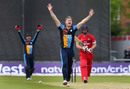 Jimmy Neesham appeals for the wicket of Steven Croft, Lancashire v Derbyshire, NatWest T20 Blast, North Group, May 21, 2016