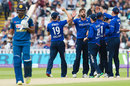 Danushka Gunathilaka was caught behind off Liam Plunkett for 22, England v Sri Lanka, 2nd ODI, Edgbaston, June 24, 2016