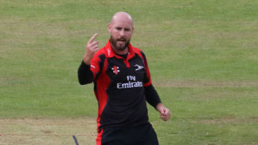 Chris Rushworth hounded Yorkshire with three cheap wickets