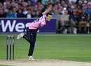 Nathan Sowter in action, Kent v Middlesex, NatWest T20 Blast, South Group, Canterburg, June 24, 2016