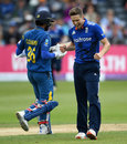 Chris Woakes removed Dinesh Chandimal, England v Sri Lanka, 3rd ODI, Bristol, June 26, 2016