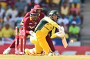 Matthew Wade helped Australia past 200, West Indies v Australia, ODI tri-series final, Barbados, June 26, 2016