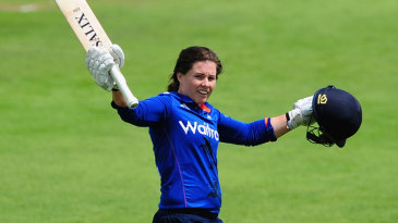 Tammy Beaumont made her second successive hundred
