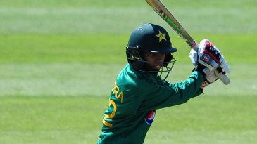 Sidra Nawaz top-scored with 47