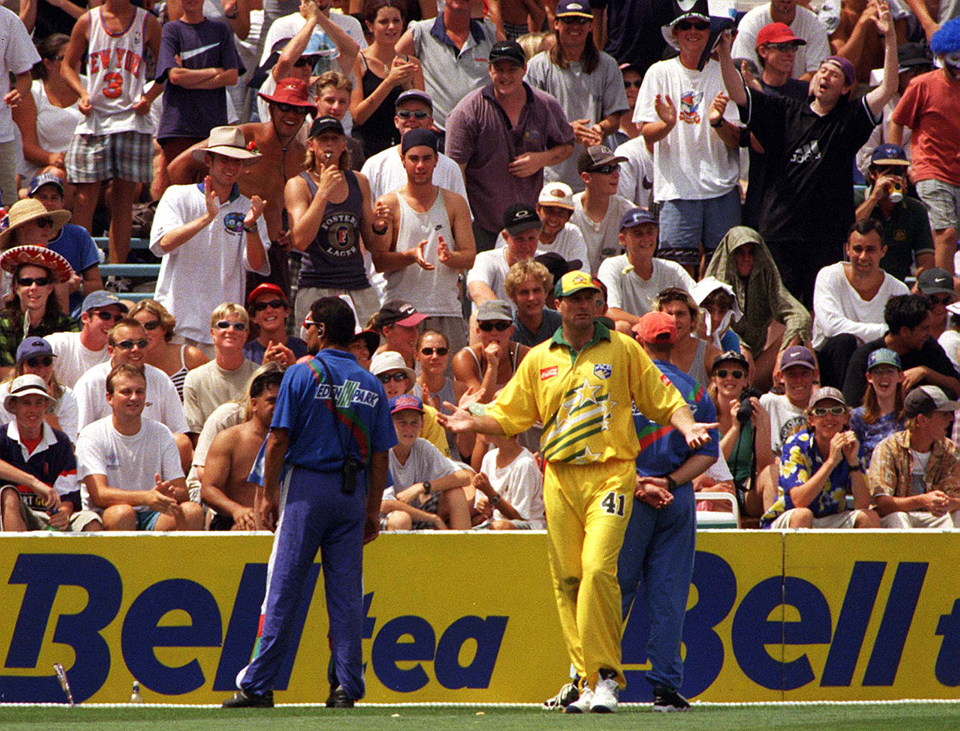 Wilson's ODI career was more noteworthy than his Test one. He picked up 13 wickets in 11 ODIs