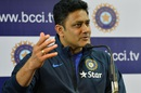 Anil Kumble addresses his first press conference as India's head coach, Bangalore, June 29, 2016