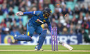 Kusal Perera was run out for 1 early in Sri Lanka's innings, England v Sri Lanka, 4th ODI, The Oval, June 29, 2016