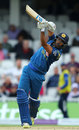 Danushka Gunathilaka lofts down the ground, England v Sri Lanka, 4th ODI, The Oval, June 29, 2016