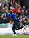 Moeen Ali gets under the catch to remove Danushka Gunathilaka, England v Sri Lanka, 4th ODI, The Oval, June 29, 2016