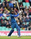 Dinesh Chandimal launches over the leg side, England v Sri Lanka, 4th ODI, The Oval, June 29, 2016